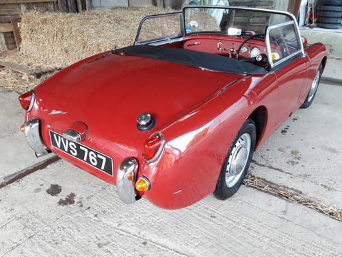 1958 Austin Healey Frogeye Sprite, All steel. NOW SOLD  For Sale (picture 3 of 6)