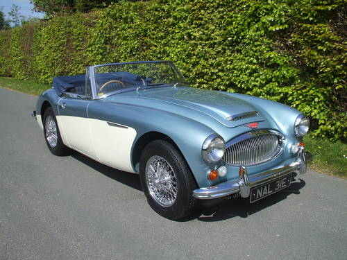 1967 Austin Healey 3000  Mk3   Phase 2 .  SOLD (picture 1 of 6)