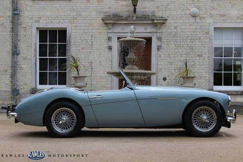 1958 Austin Healey 100/6 BN4 SOLD (picture 2 of 6)