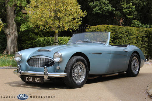 1958 Austin Healey 100/6 BN4 SOLD (picture 4 of 6)