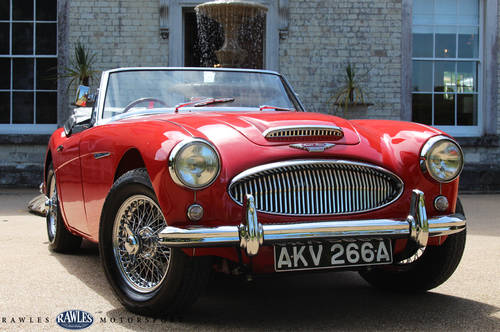 1963 Austin Healey 3000 MKIIA | 2012 Restoration SOLD (picture 1 of 6)