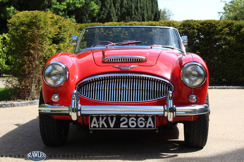 1963 Austin Healey 3000 MKIIA | 2012 Restoration SOLD (picture 2 of 6)