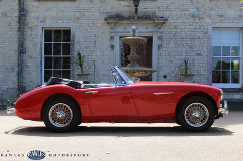 1963 Austin Healey 3000 MKIIA | 2012 Restoration SOLD (picture 3 of 6)