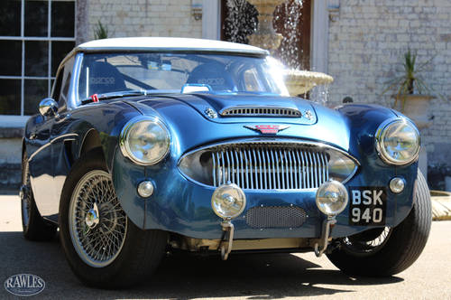 1961 Austin Healey 3000 MK2 Rally Car   Monte Carlo/Isle Man Wins SOLD (picture 1 of 6)