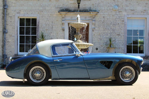 1961 Austin Healey 3000 MK2 Rally Car   Monte Carlo/Isle Man Wins SOLD (picture 2 of 6)