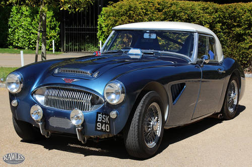 1961 Austin Healey 3000 MK2 Rally Car   Monte Carlo/Isle Man Wins SOLD (picture 5 of 6)
