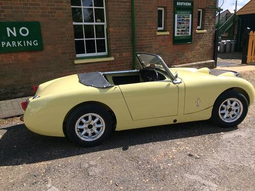 1959 Austin Healey Frog Eye Sprite.   ''End of season offer'' SOLD (picture 2 of 5)