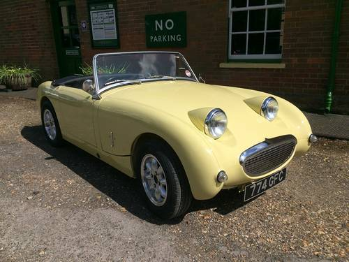 1959 Austin Healey Frog Eye Sprite.   ''End of season offer'' SOLD (picture 5 of 5)