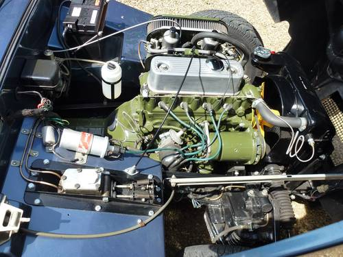 Mike Authers Classics offers a Healey Frogeye NOW SOLD For Sale (picture 5 of 6)