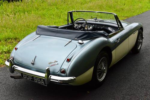 1963 Austin Healey 3000 Mk2 SOLD (picture 3 of 6)