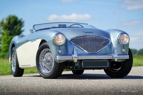 AUSTIN HEALEY 100/4 BN1 1955 - TOP CONDITION SOLD (picture 1 of 6)