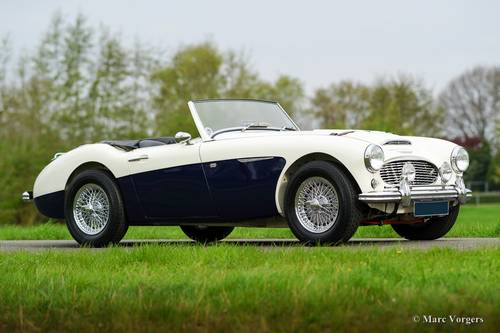 AUSTIN HEALEY 100/6 1957 IN PERFECT CONDITION SOLD (picture 1 of 6)