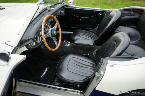 AUSTIN HEALEY 100/6 1957 IN PERFECT CONDITION SOLD (picture 4 of 6)