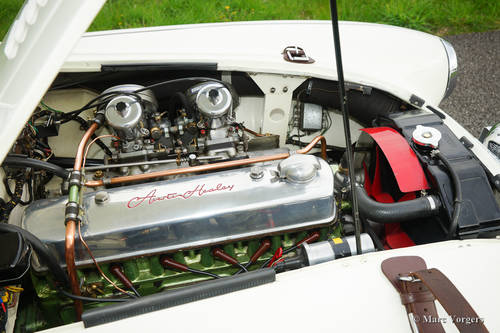 AUSTIN HEALEY 100/6 1957 IN PERFECT CONDITION SOLD (picture 5 of 6)