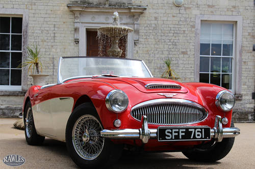 Austin Healey 3000 MKII BN7 | One of 355 Two-Seaters SOLD (picture 1 of 6)