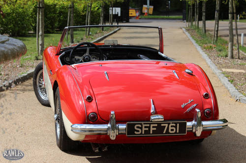 Austin Healey 3000 MKII BN7 | One of 355 Two-Seaters SOLD (picture 3 of 6)