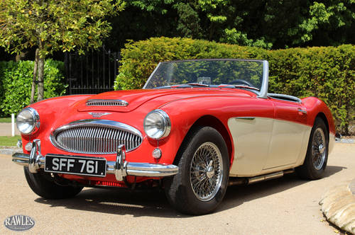 Austin Healey 3000 MKII BN7 | One of 355 Two-Seaters SOLD (picture 4 of 6)