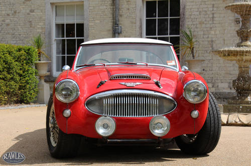 1962 Austin Healey 3000 MKII in Colorado Red w. Red Trim SOLD (picture 2 of 5)