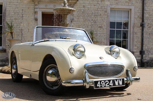 1959 Austin Healey 'Frogeye' Sprite | Original RHD, Ivory White SOLD (picture 1 of 6)