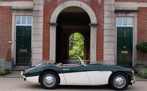 Austin Healey 3000 MKI BN7 | 50k miles and 1 of 111 ORHD SOLD (picture 2 of 6)