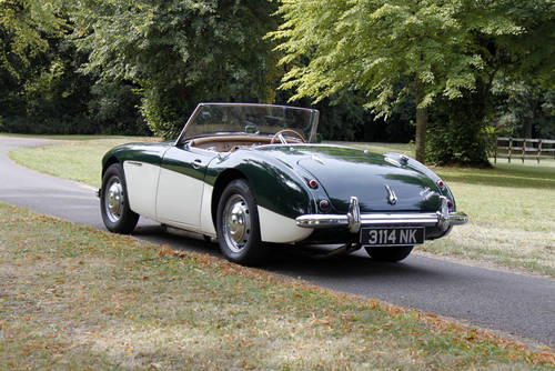 Austin Healey 3000 MKI BN7 | 50k miles and 1 of 111 ORHD SOLD (picture 3 of 6)