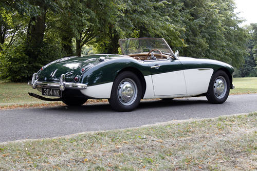 Austin Healey 3000 MKI BN7 | 50k miles and 1 of 111 ORHD SOLD (picture 4 of 6)