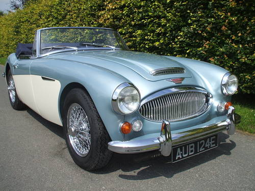 1967 Austin Healey 3000  Mk3   Phase 2 .  SOLD (picture 5 of 6)
