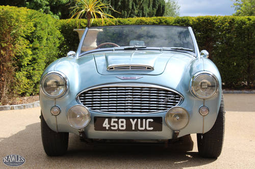 1958 Austin Healey 100/6 | W. Original Hardtop and High Specifica SOLD (picture 2 of 6)