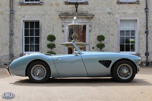 1958 Austin Healey 100/6 | W. Original Hardtop and High Specifica SOLD (picture 3 of 6)