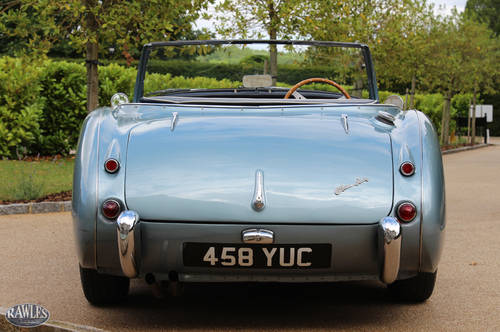 1958 Austin Healey 100/6 | W. Original Hardtop and High Specifica SOLD (picture 4 of 6)