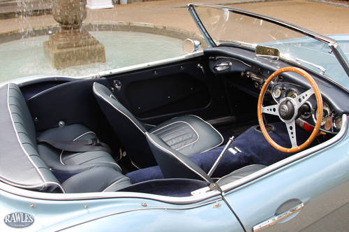 1958 Austin Healey 100/6 | W. Original Hardtop and High Specifica SOLD (picture 6 of 6)