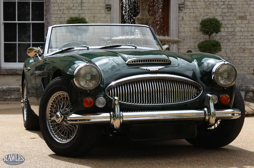 Austin Healey 3000 MKIII   Original Right Hand Drive - 1966 SOLD (picture 1 of 6)
