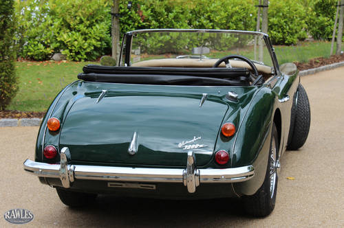 Austin Healey 3000 MKIII   Original Right Hand Drive - 1966 SOLD (picture 4 of 6)