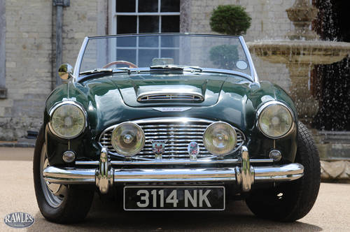 1960 Austin Healey 3000 MKI BN7 | Original RHD & 45kmls from New SOLD (picture 2 of 6)