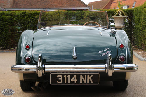 1960 Austin Healey 3000 MKI BN7 | Original RHD & 45kmls from New SOLD (picture 4 of 6)