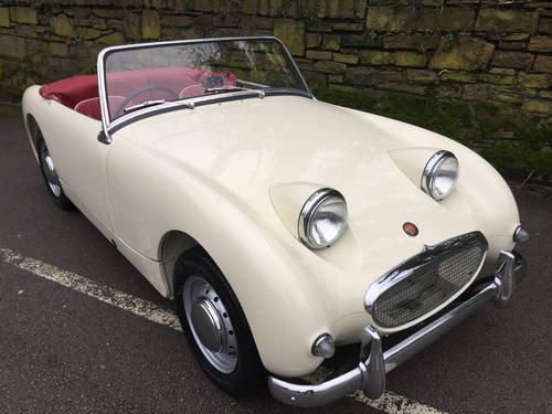 1959 AUSTIN HEALEY SPRITE MK 1  (FROG EYE) SOLD (picture 1 of 6)