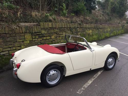 1959 AUSTIN HEALEY SPRITE MK 1  (FROG EYE) SOLD (picture 3 of 6)