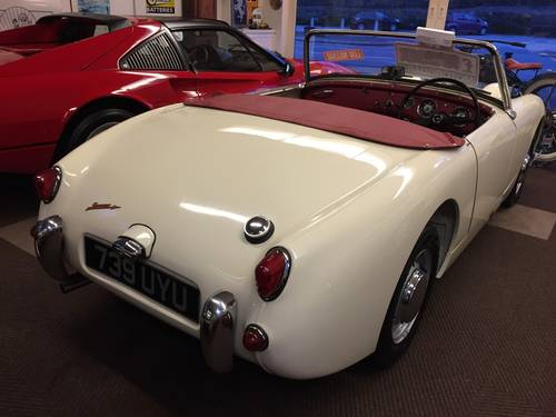 1959 AUSTIN HEALEY SPRITE MK 1  (FROG EYE) SOLD (picture 6 of 6)