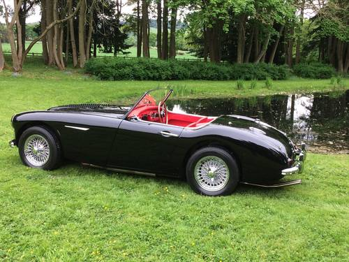 1958 Ground up restoration Austin Healey 100/6 BN6 RARE 2 seater For Sale (picture 2 of 6)