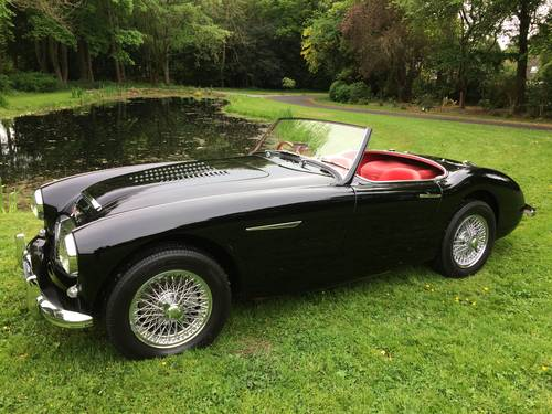 1958 Ground up restoration Austin Healey 100/6 BN6 RARE 2 seater For Sale (picture 1 of 6)