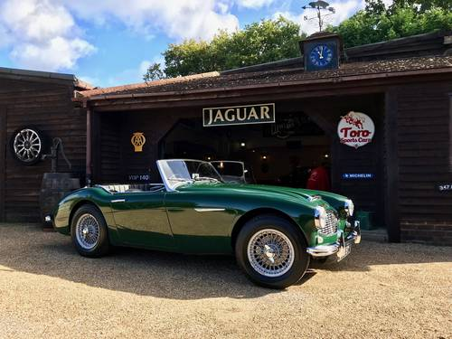 1961 AUSTIN HEALEY 3000 MK1 RUDDSPEED SOLD (picture 1 of 6)