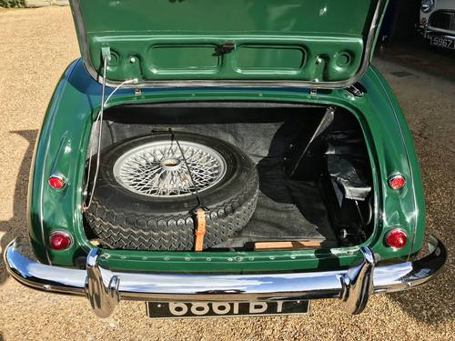 1961 AUSTIN HEALEY 3000 MK1 RUDDSPEED SOLD (picture 5 of 6)