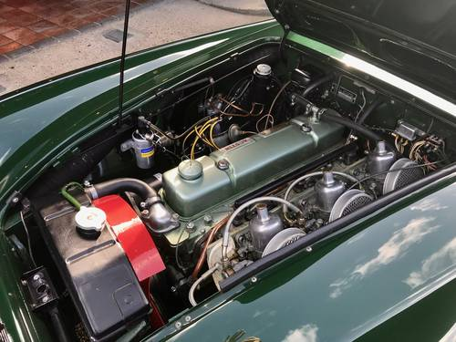 1961 AUSTIN HEALEY 3000 MK1 RUDDSPEED SOLD (picture 6 of 6)