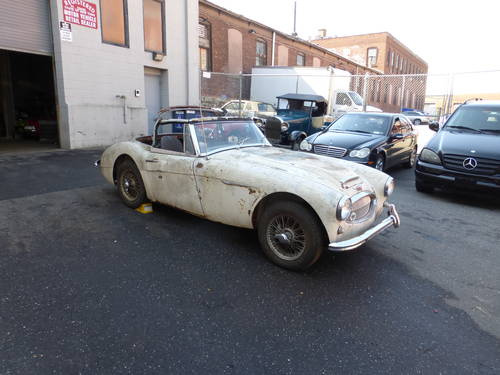 1963 Austin Healey 3000 BJ7 Needs Restoration - SOLD (picture 1 of 6)