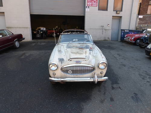 1963 Austin Healey 3000 BJ7 Needs Restoration - SOLD (picture 2 of 6)