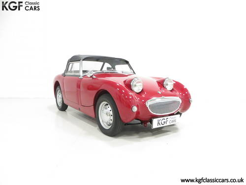 A Concours Contending 1959 UK Supplied Austin-Healey Sprite SOLD (picture 1 of 6)