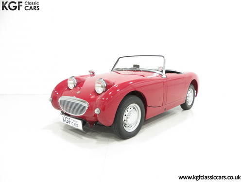 A Concours Contending 1959 UK Supplied Austin-Healey Sprite SOLD (picture 2 of 6)