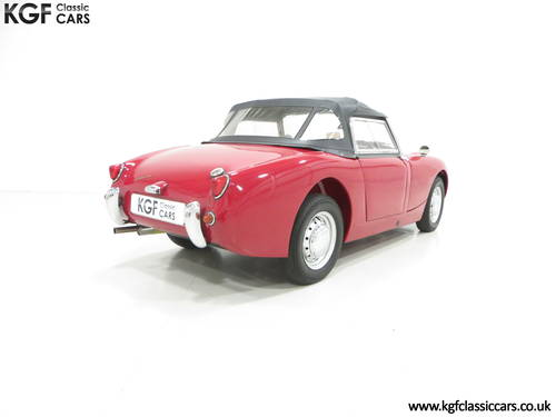 A Concours Contending 1959 UK Supplied Austin-Healey Sprite SOLD (picture 5 of 6)