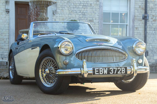1964 Austin Healey 3000 MKIII BJ8 | Original Healey Blue & Ivory SOLD (picture 1 of 6)