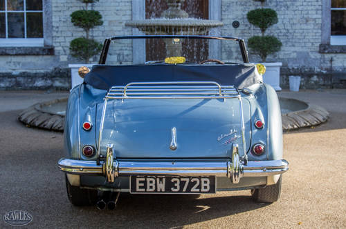 1964 Austin Healey 3000 MKIII BJ8 | Original Healey Blue & Ivory SOLD (picture 4 of 6)
